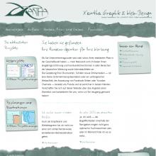 Website www.xantha.at