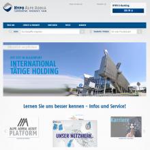 Hypo Alpe-Adria Group Homepage