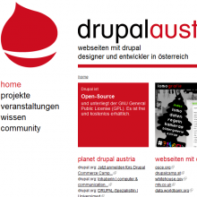 Drupal-Austria Website