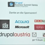 Sponsoren des Drupal Business Summit 2011